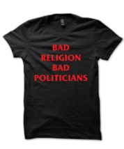 Ženska majica Bad Religion Bad Politicians