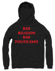 Moški pulover s kapuco Bad Religion Bad Politicians